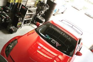 Nissan 350z serviced