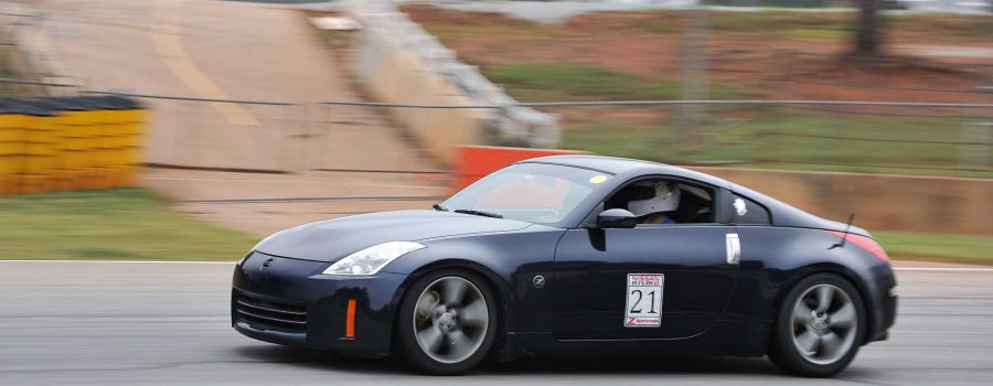 Leonardi Performance 07 350Z representing at the 2017 Z Nationals Track Day